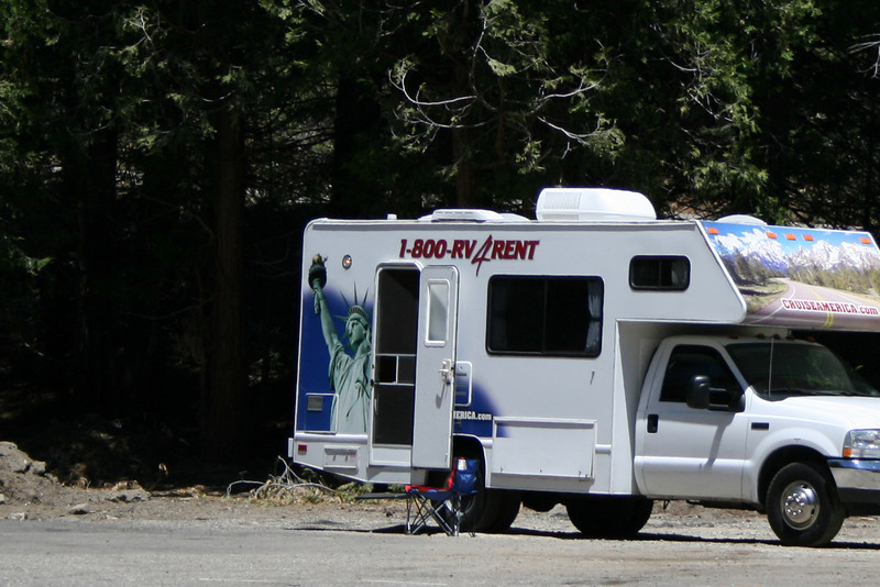 If you want to rent a camper...