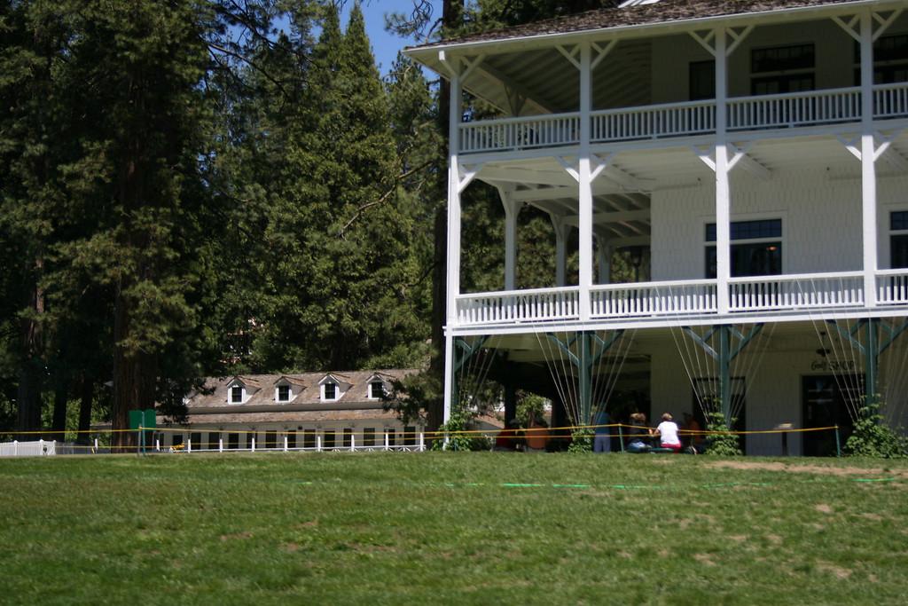 The lodge at Wawona.