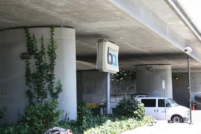 Bart station in Emeryville (on the Oakland side).