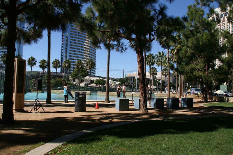 the park across the street from the Marriott