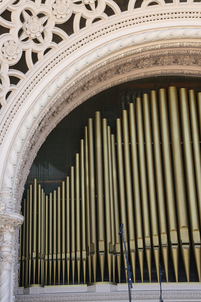 The organ at Balboa Park