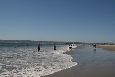 The beach at Coronodo Island