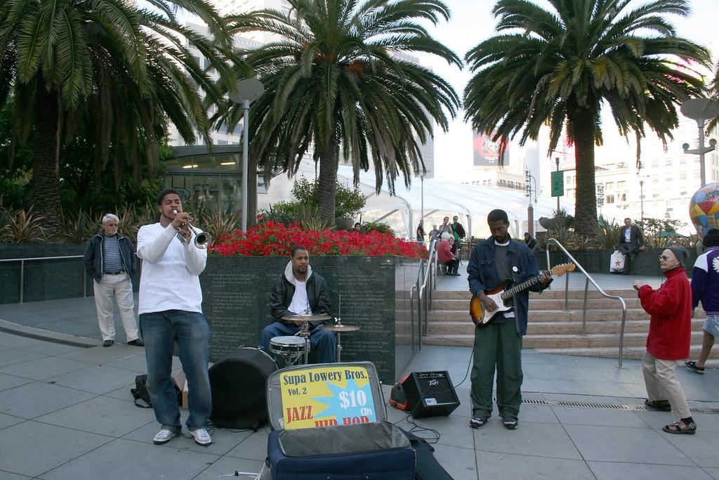 Union Square musicians.