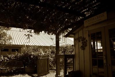 Porter Creek Winery.