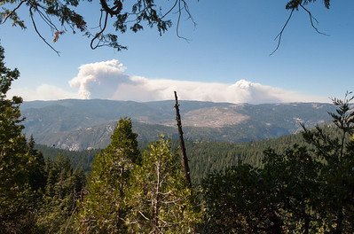 Wildfire in Yosemite
