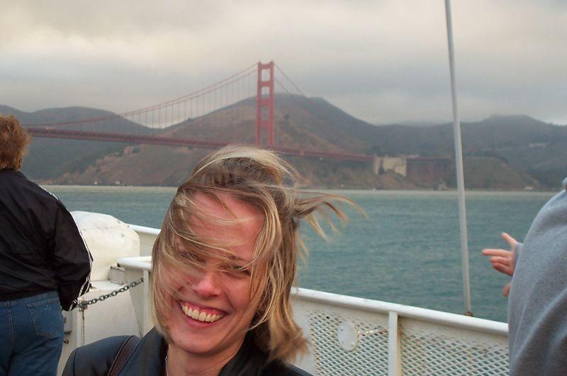 Passeio de barco - Golden Gate