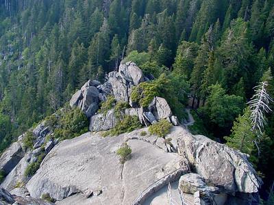 Plato below Moro Rock