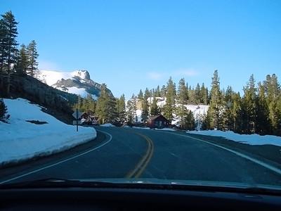 Coming nearer to Sierra-Nevada pass