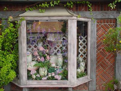 Flower shop-window