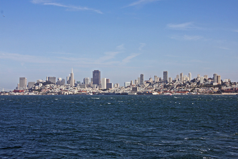 View of San Francisco from the Ferry