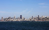 <b>View of San Francisco and Surrounding Area from the Alcatraz Ferry</b>