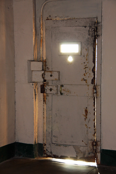 <b>Steel Door to Recreation Yard</b>