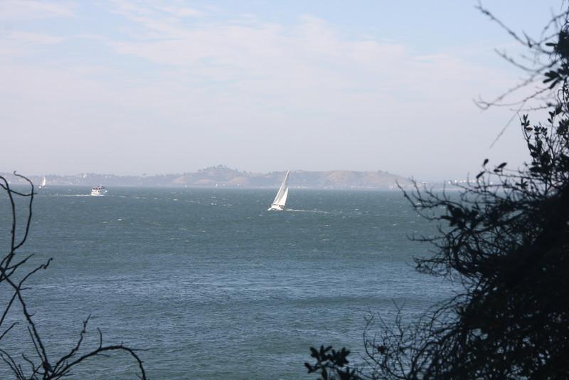 <b>View of the Bay from Alcatraz</b>