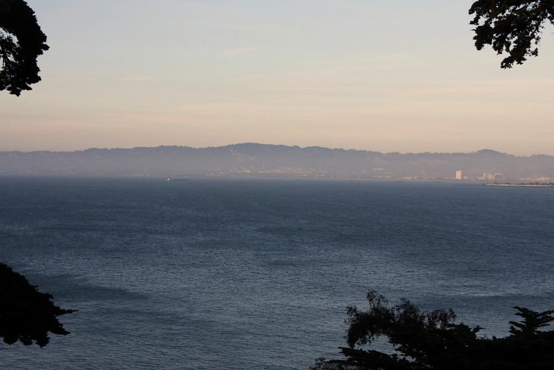 <b>View from Alcatraz</b>