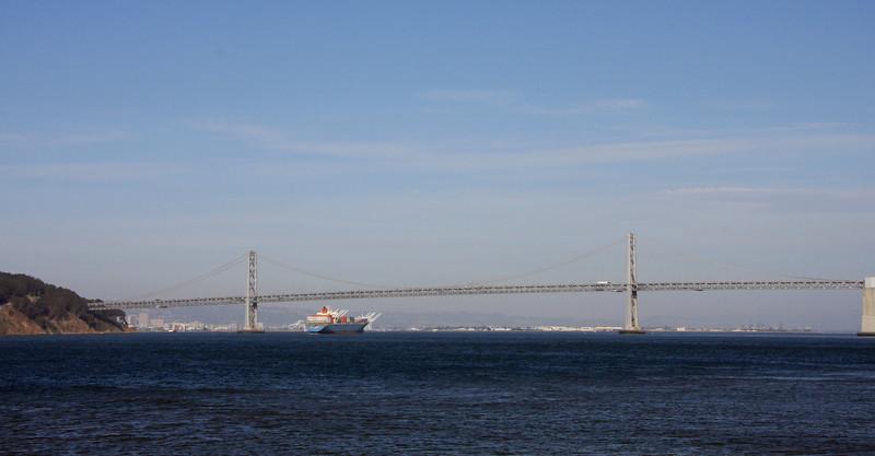 <b>On the Ferry heading to Alcatraz</b>