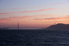 <b>Golden Gate Bridge from the Alcatraz Ferry</b>  [B]