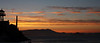 View of Sunset from Alcatraz