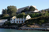 "<b>Alcatraz</b> - <b>Post Exchange/Officers' Club</b><br> <br> The Alcatraz ""Officers Club"" was built in 1910 during the time that the U.S. Army used Alcatraz Island as a military post. The building initially was used as a post exchange. In 1916, the lower story of the building was enclosed to provide space for recreational activities. In 1933, Alcatraz Island was transferred to the Bureau of Prisons, and the building became the Officer's Club. In 1963, the federal penitentiary was shut down, and the building remained closed until 1970. <br> <br> During the Native American occupation of the island in 1970, a fire broke out in the Officer's Club, entirely destroying the interior. The concrete walls and columns survived the fire and remain standing today. <br> <br> Concerned about the high seismicity of the area and ongoing deterioration, the National Park Service retained WJE to evaluate the ruins and develop structural stabilization measures for this historic structure. The stabilization measures were required to support the building in its current condition as a ruin and also to be incorporated, without being visible, into a possible future restoration."