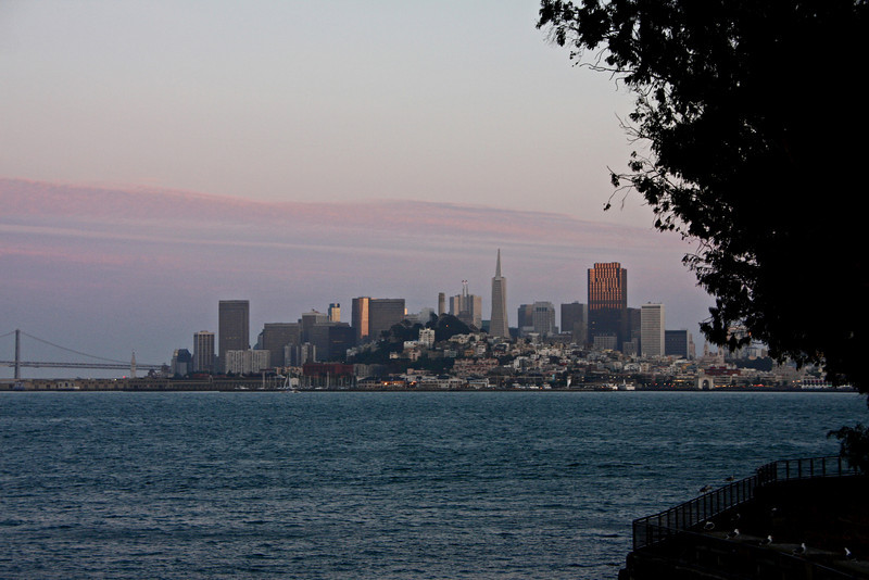 <b>View of San Francisco from Alcatraz</b>