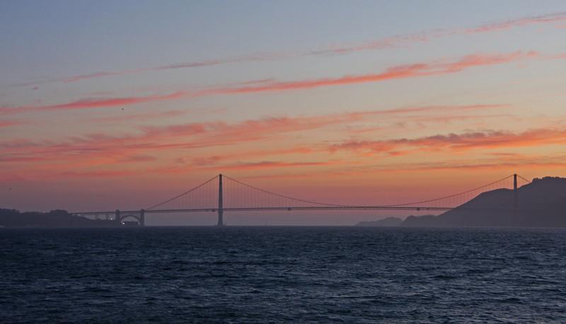 <b>View from Ferry returning from Alcatraz</b>