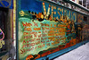 <b>Mural in one of the alleys heading into Chinatown</b>