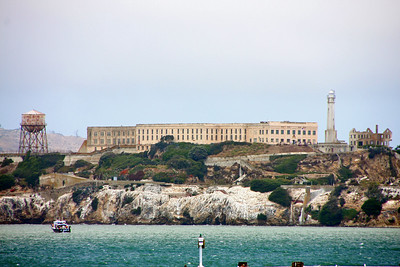 View of Alcatraz from Pier 39