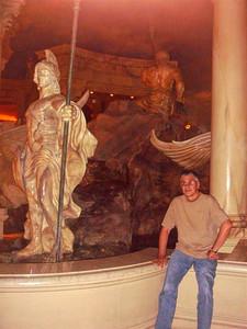 Las Vegas, Ceasar's Palace, Fontana di Trevi