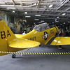 Plane on USS Midway