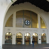 "Santa Fe train station in San Diego. Great example of ""pueblo deco"" architecture"