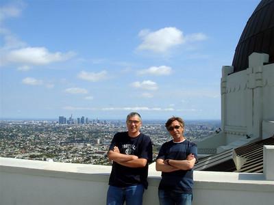 Griffith Opservatorija, pogled na Downtown LA