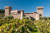 Castello Di Amorosa castle winery in Calistoga in the Napa Valley.