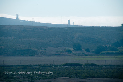 Launch pads at Vandenberg Air Force Base.