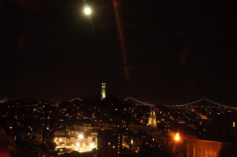 San Francisco and the Coit Tower