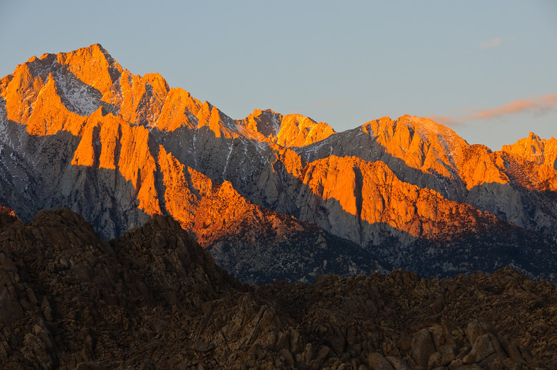 Sunrise, Mt. Whitney, California