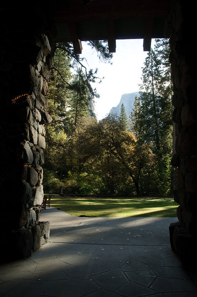 View from Ahwahnee Hotel