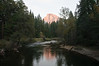 Merced River and Half Dome, Yosemite National Park, Californiz