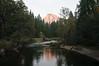 Merced River and Half Dome, Yosemite National Park, Californiz
