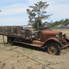 Old delivery truck at Gundlach-Bundschue winery