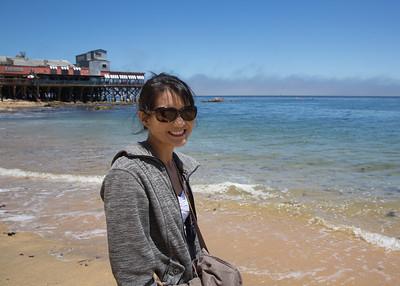 Ann in Monterey