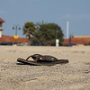 My Flip Flops on Ventura Beach