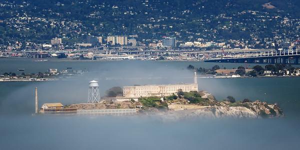 """Alcatraz (""""The Rock"""") - SF, CA"""
