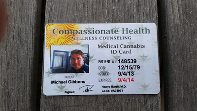 Mike's license for... anorexia