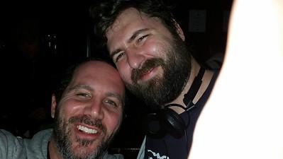 klangklangston and me looking good at Seven Grand Scotch Bar