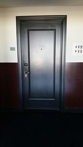 """""""Not Now"""" sign on my hotel door"""