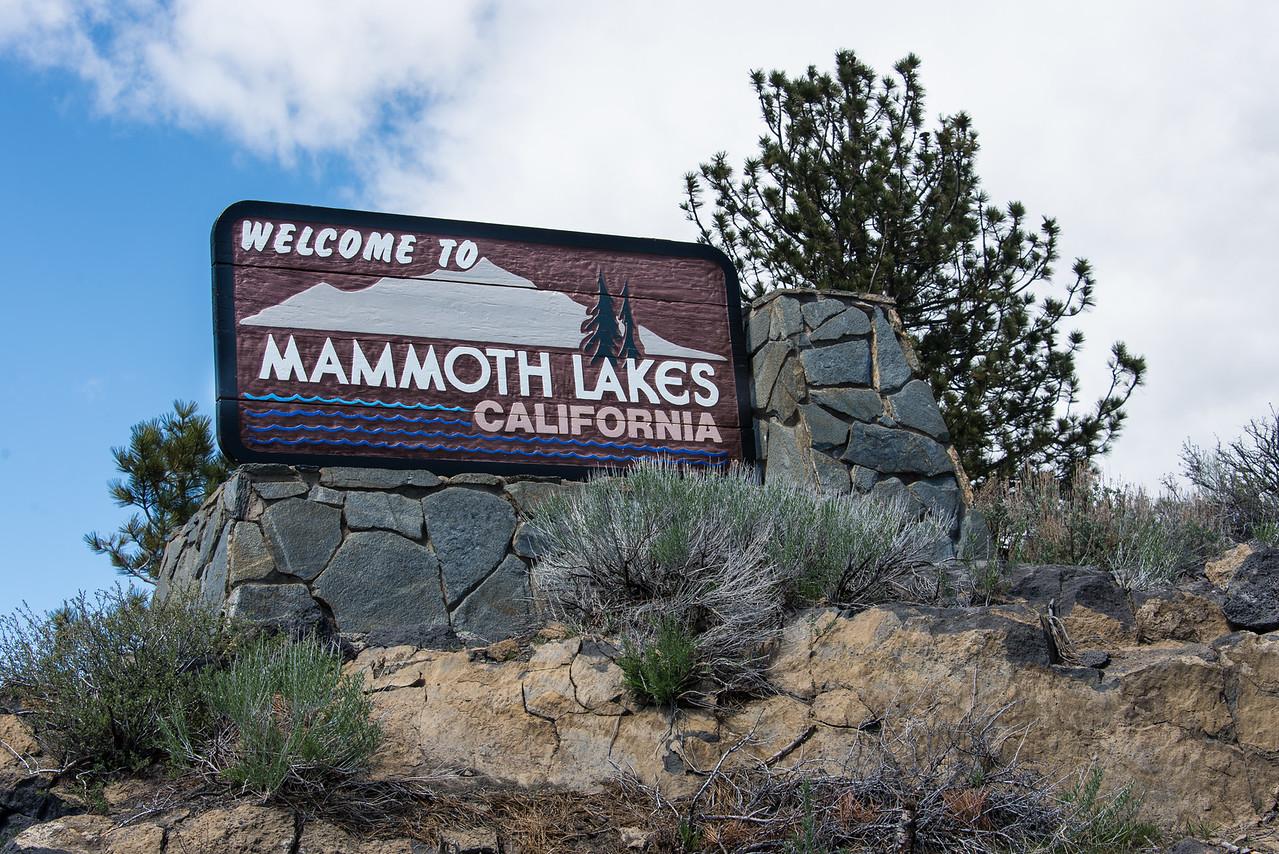 Mammoth Lakes, California - April 2016
