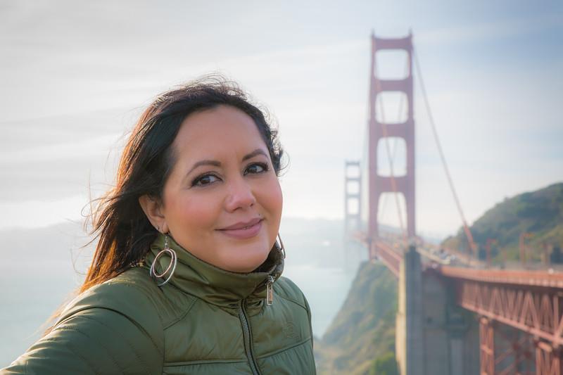 Ariana at Golden Gate