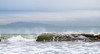 Surf at Oxnard Beach (Channel Islands in the background)