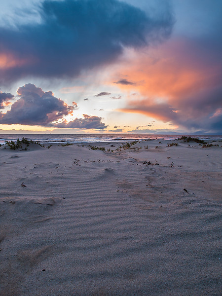 Sunset at Oxnard Beach 2/26/2011