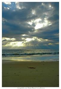 Crystal Cove State Beach, California