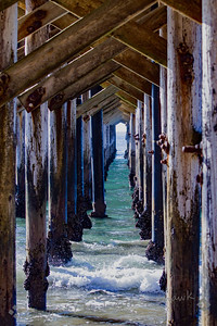 Through the Pier